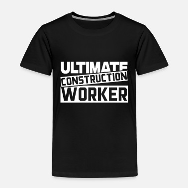 Construction Construction worker Construction worker Construction worker Construction worker - Kids' Premium T-Shirt