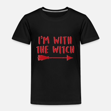 I'm with the witch witch mom shirt - Kids' Premium T-Shirt