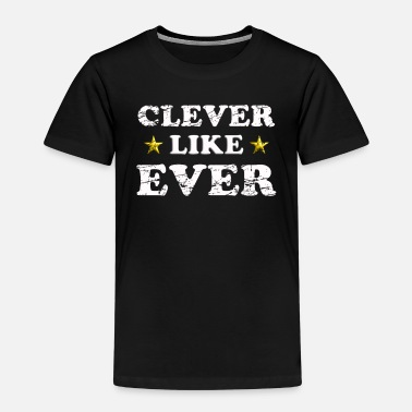 Schlaubi clever like ever 1 - Kinder Premium T-Shirt