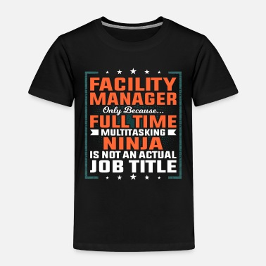 Plant Facility manager profession employee gift idea - Kids' Premium T-Shirt