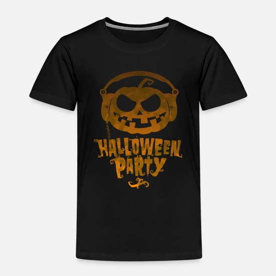 Gift Idea T-Shirts - Halloween Party 2019 - Kids' Premium T-Shirt black
