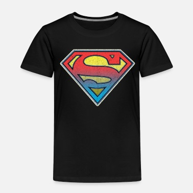 Superman DC Comics Originals Superman Retro Logo - Premium T-shirt til børn