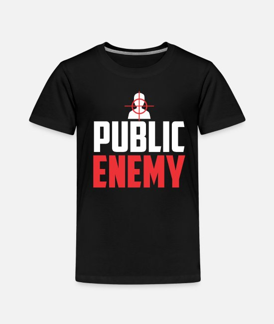 Destination T-shirts - Public Enemy Target Mission Enemy Sagittarius - T-shirt premium Enfant noir