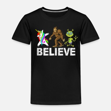 I Want to Believe in Extraterrestrials and Fantastic Things - Kids' Premium T-Shirt