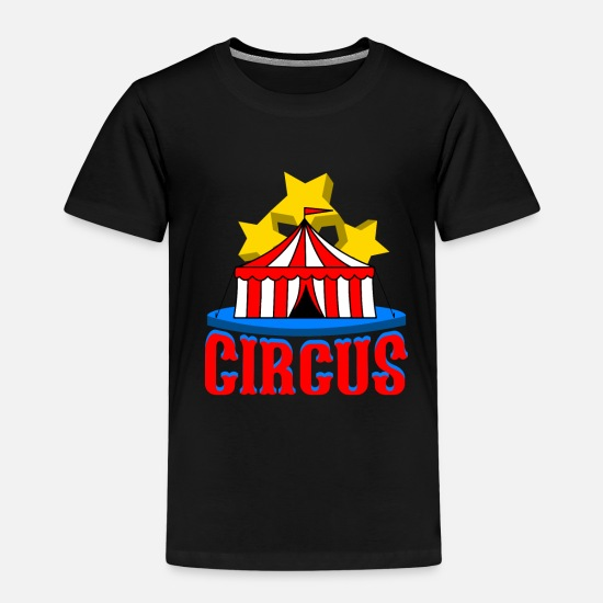Circus T-Shirts - Circus performance - Kids' Premium T-Shirt black