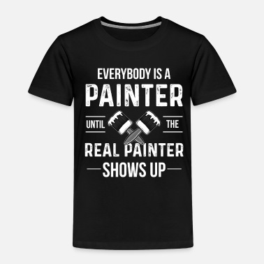 Painter painting - Kids' Premium T-Shirt