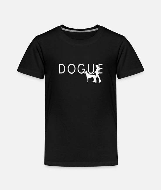 Dog Owner T-Shirts - Dogue - Kids' Premium T-Shirt black