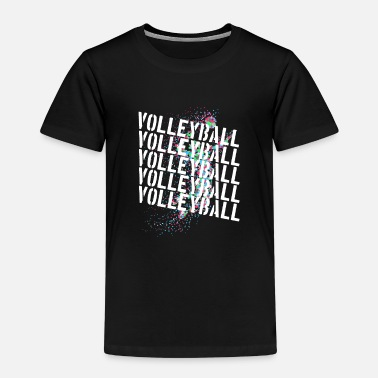 Volleyball Player Volleyball players Beach volleyball players volleyball - Kids' Premium T-Shirt