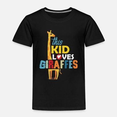 Giraffe This kid loves giraffes - Kids' Premium T-Shirt