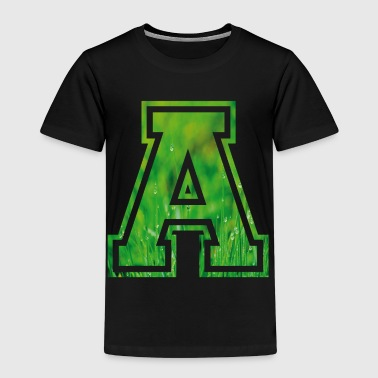 Alphabet A a Name Letter Birthday Gift - Kids' Premium T-Shirt
