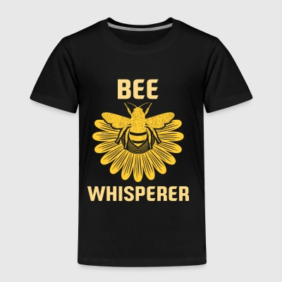 Bee Honey Bee Whisperer Apiculteur nid d'abeille fleurs - T-shirt Premium Enfant