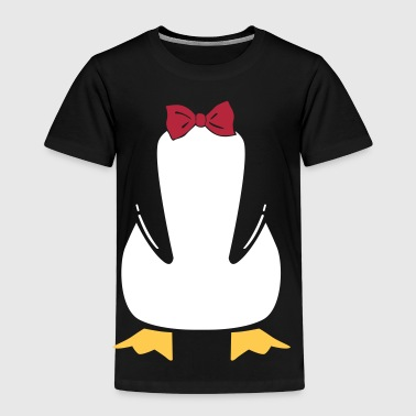 penguin with bow tie - Kinderen Premium T-shirt