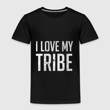 I Love My Tribe - Family Reunion - Kinderen Premium T-shirt
