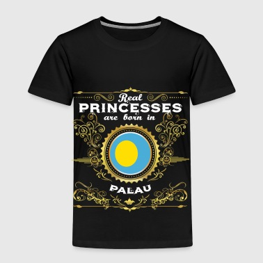 PRINCESS PRINCESS QUEEN BORN PALAU - Premium T-skjorte for barn