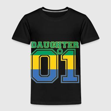 Daughter 01 tochter queen Gabun - Kinder Premium T-Shirt