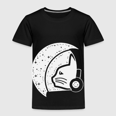 Cat Stronaut - Premium T-skjorte for barn