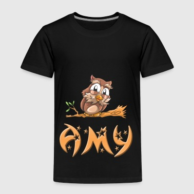 Owl Amy - Kids' Premium T-Shirt