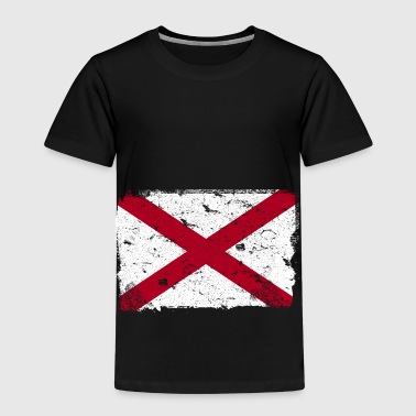Alabama vintage flag - Kids' Premium T-Shirt