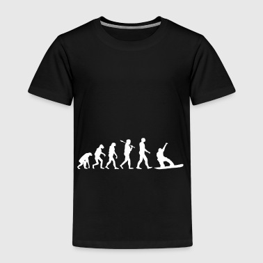 Snowboard Shirt · Evolution · · boarder piste - T-shirt Premium Enfant