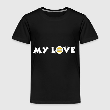 Burger love - My love - Kids' Premium T-Shirt