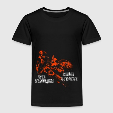 Motocross - Kinder Premium T-Shirt