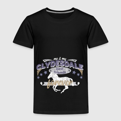 Clydesdale Pferd Pferderasse best friend - Kinder Premium T-Shirt