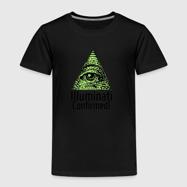Illuminati Confirmed - Illuminaten Shirt - Kinder Premium T-Shirt