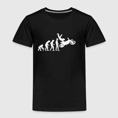 Evolution motorcycling jump motocross - Kids' Premium T-Shirt