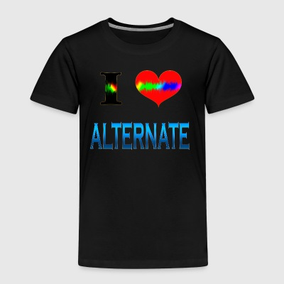 I Love Alternate - Børne premium T-shirt
