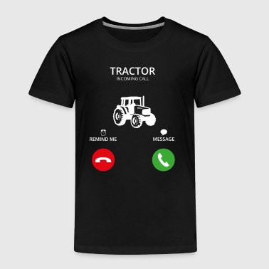 Call Mobile Call tractor tractor farmer - Kinderen Premium T-shirt