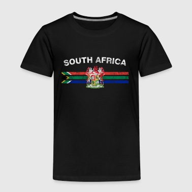 South African Flag Shirt - South African Emblem & - Kids' Premium T-Shirt