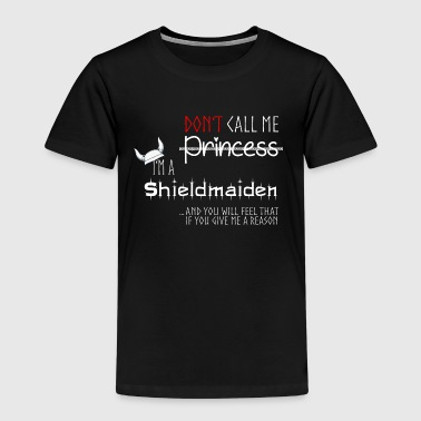 Shieldmaiden, Vikings - Kids' Premium T-Shirt