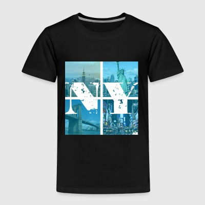 NEW YORK BLUE - Kinder Premium T-Shirt