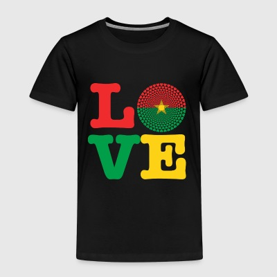 Burkina faso heart - Kids' Premium T-Shirt