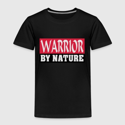 Warrior by Nature - Børne premium T-shirt