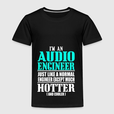 AUDIO ENGINEER - Camiseta premium niño