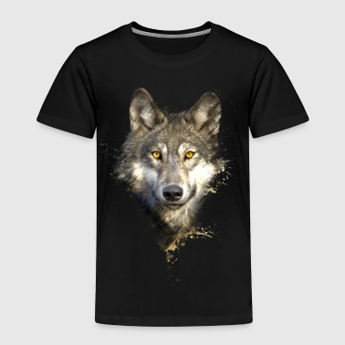 Painted Wolf - Kinder Premium T-Shirt