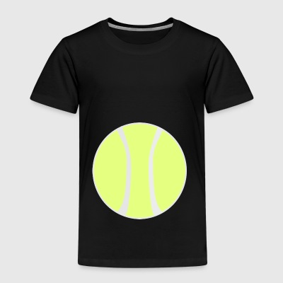 tennis ball court sports bat player player squash - Kids' Premium T-Shirt