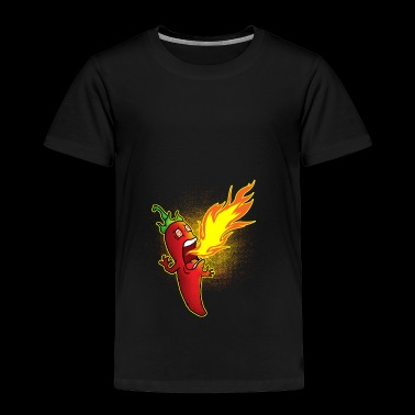 Chili crache du feu - T-shirt Premium Enfant