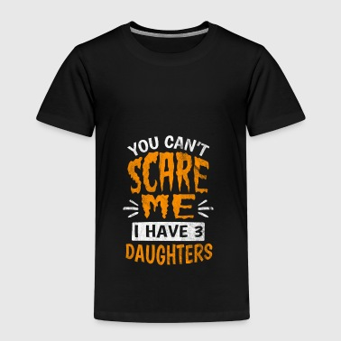 Shirt for dad with three daughters - gift - Kids' Premium T-Shirt