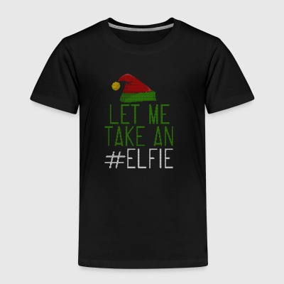 Let Me Take An Elfie Ugly Style - Kids' Premium T-Shirt