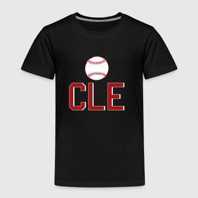 Cleveland Baseball Throwback CLE - Premium-T-shirt barn