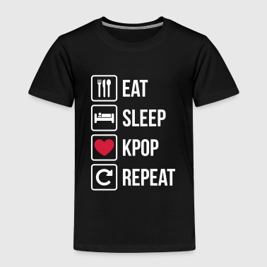 Eat Sleep KPOP Repeat - Kids' Premium T-Shirt