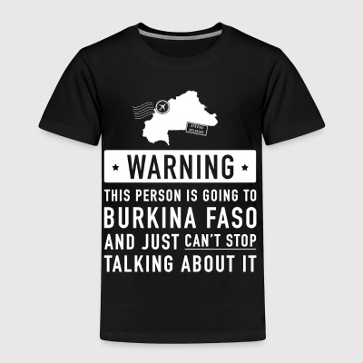 Original Burkina Faso holiday gift - Kids' Premium T-Shirt