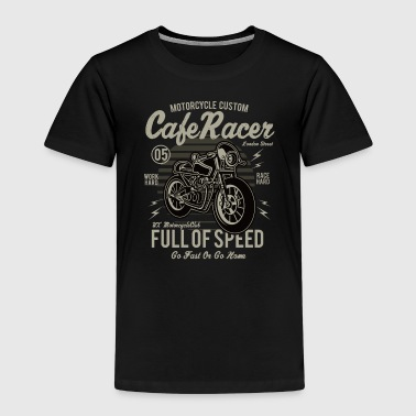 Cafe Racer: Full of speed Custum motorcycle shirt - Kids' Premium T-Shirt