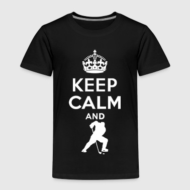 Keep Calm - Hockey - Kids' Premium T-Shirt