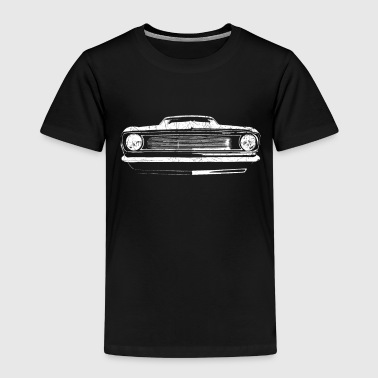 1966 muscle car - white - Kids' Premium T-Shirt