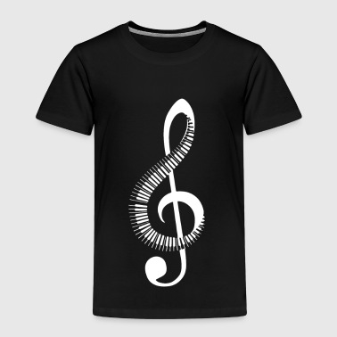 Clef piano - Kids' Premium T-Shirt