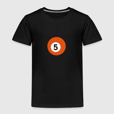 5 Ball Billardkugel Billard - Kinder Premium T-Shirt