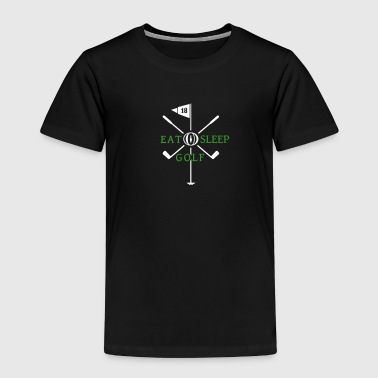 Eat Sleep Golf (2c) - Kids' Premium T-Shirt